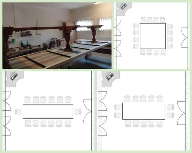 planuri pozitionare masa manualul arhitectului