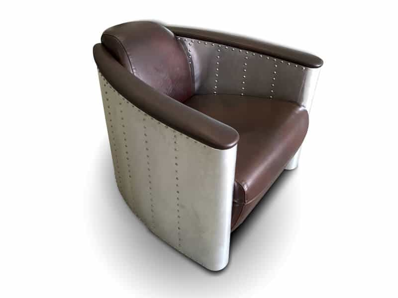 Aviator Armchair Leather