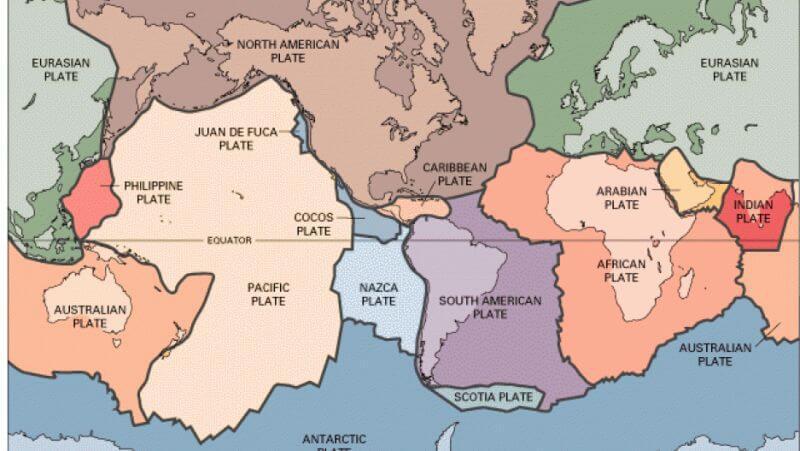 placile tectonice