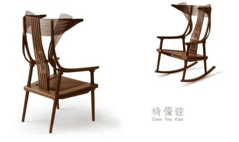 Jeff Dayu Shi Bambus Chair