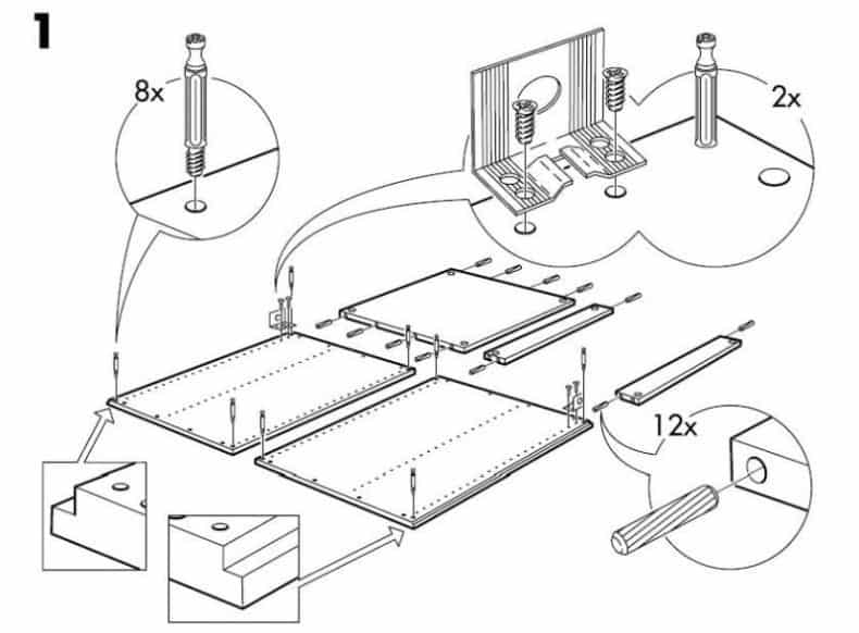 ikea furniture assembly