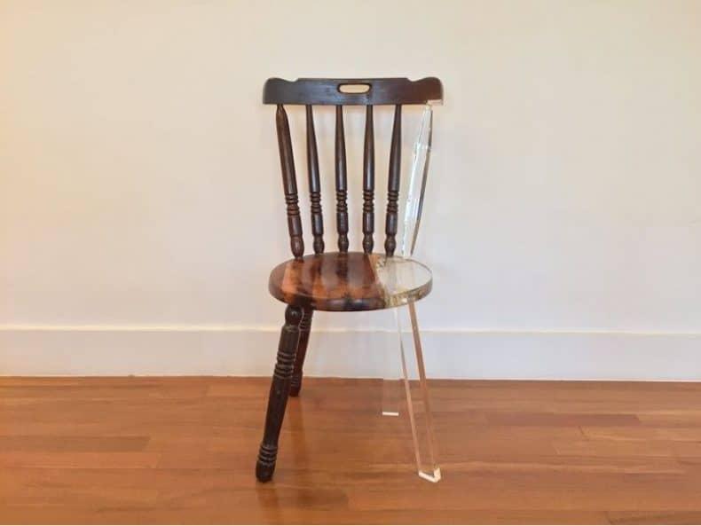 scaunul meu nou vechi