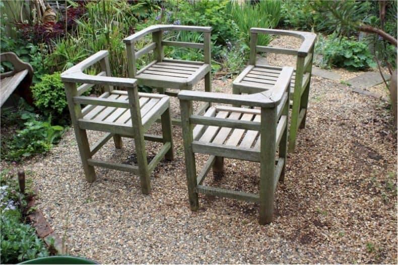 scaune de colț - set de terasa sau gradina