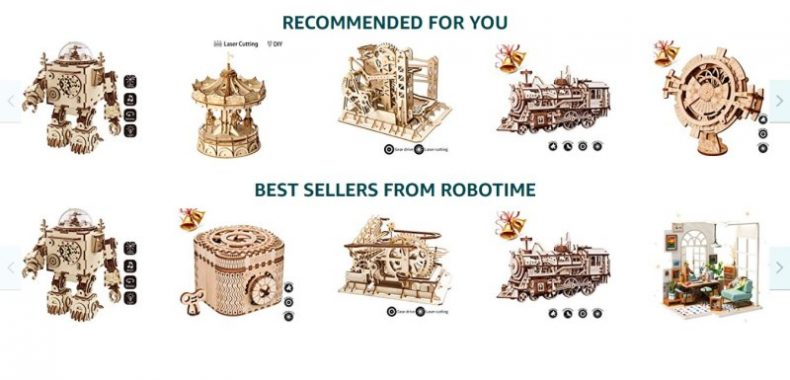 Amazon Robotime