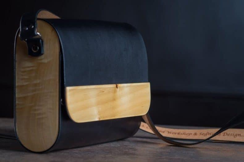 piele și lemn produse de Tudor Luparu