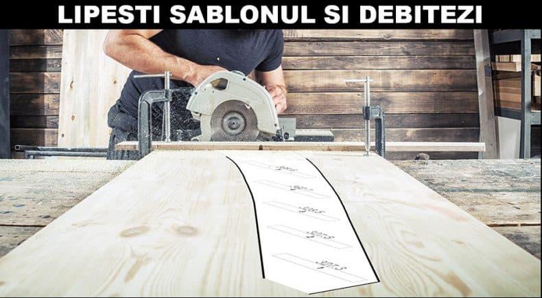 Dipproject sabloane de debitare scari interioare din lemn masiv