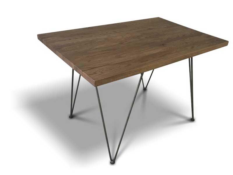 Masa cu picioare metalice subtiri Masa Staple