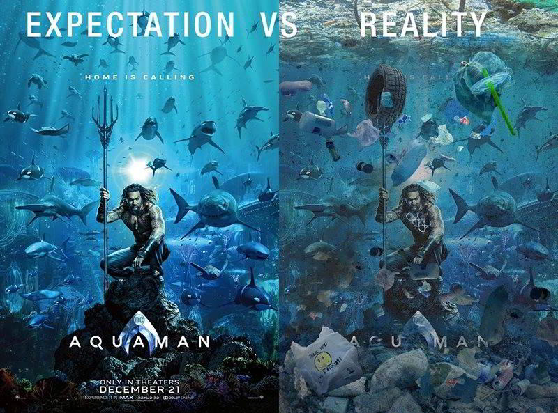 Realitatea din Aquaman