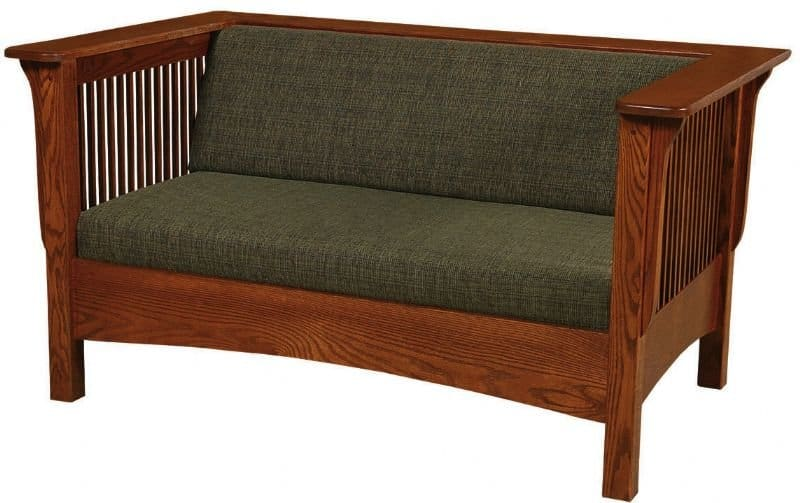 Amish Mission Loveseat Sofa