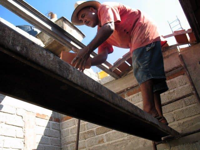 bricks ceiling