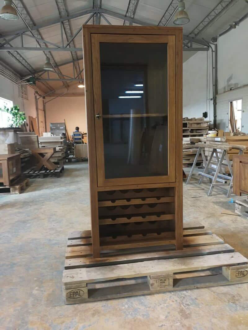 corp cu suport vinuri și vitrină - mobilă în Brăila
