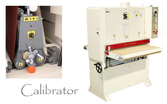 Calibrator mașină de șlefuit și calibrat
