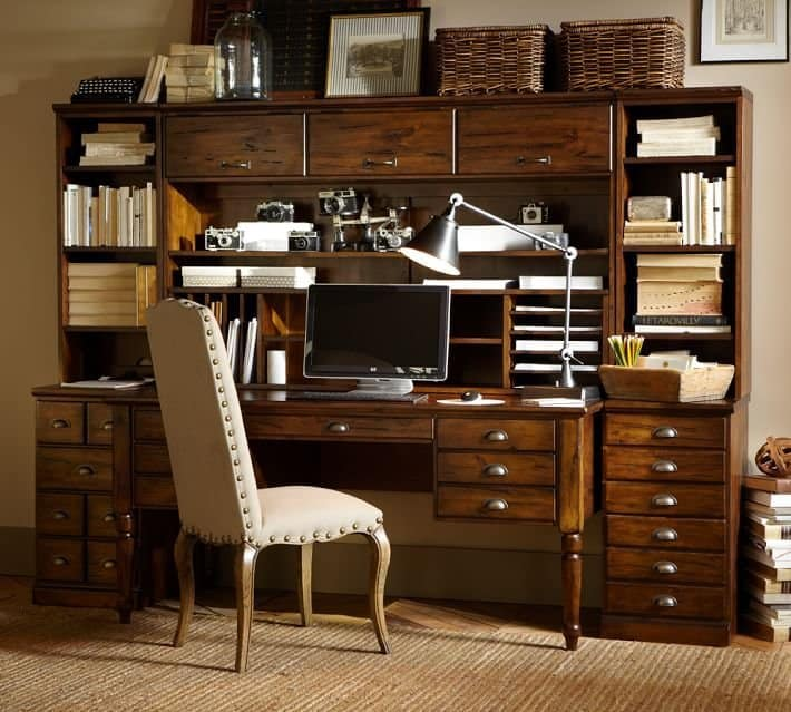 pottery barn home office