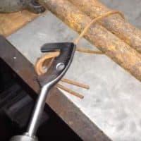 dispozitiv de legat sârmă