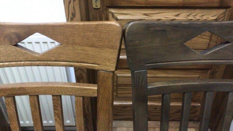 scaun din stejar Dijon - 2 culori