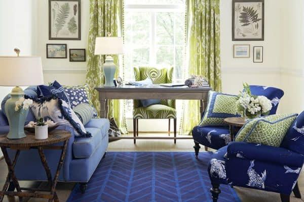 Classic Blue Interiors
