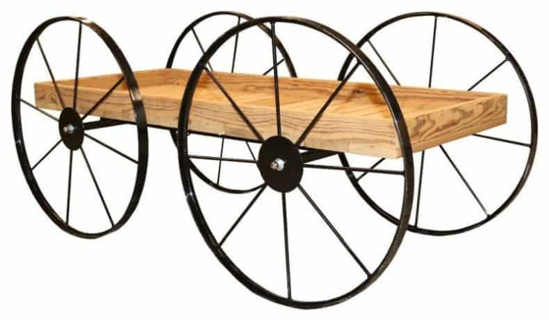 cărucior de grădină