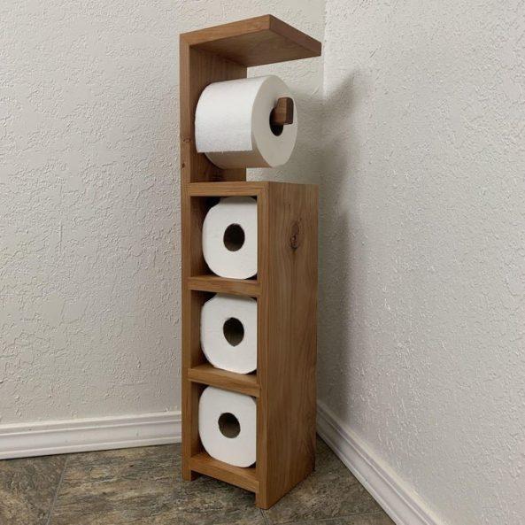 Instructables Scrap Wood Toilet Paper Holder