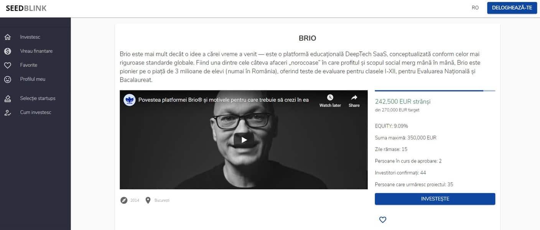 Brio SeedBlink