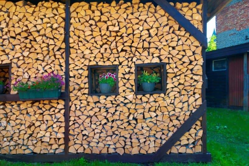 estetica cu lemne pentru foc
