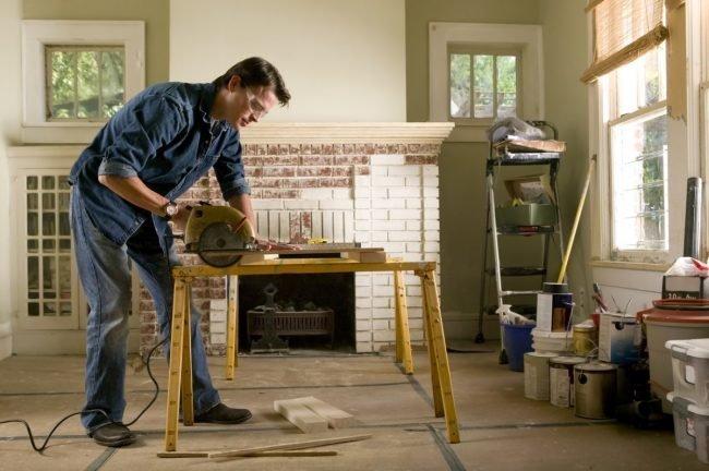 Bob Vila - capra din lemn
