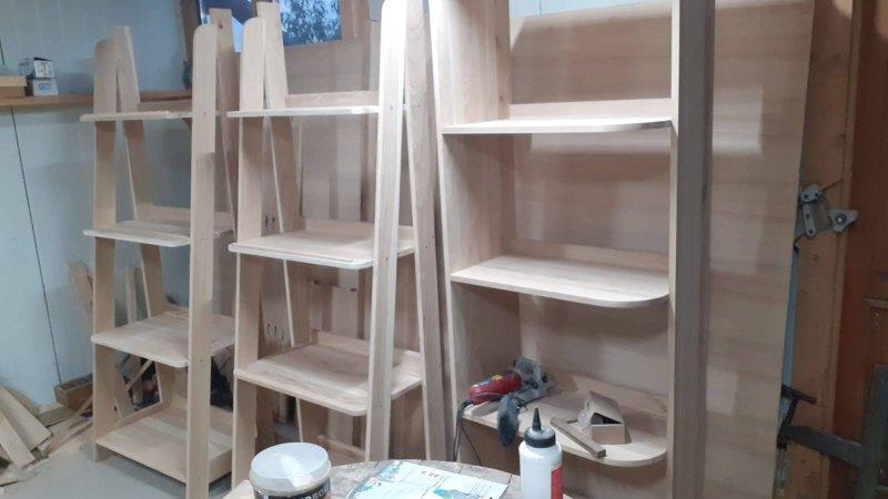 amenajare de brutărie - piesele din atelier