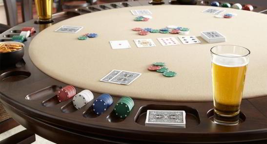 blat reversibil masa de poker