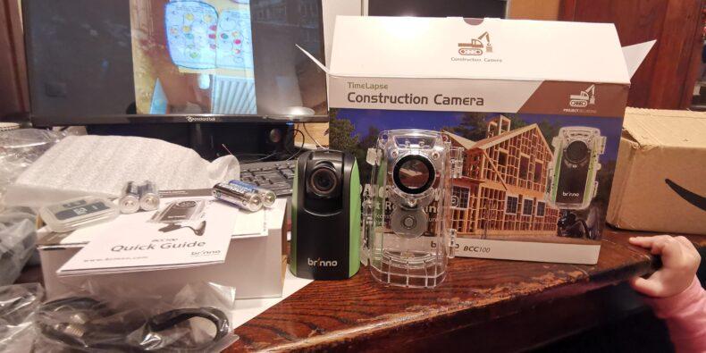 cameră video pentru construcții