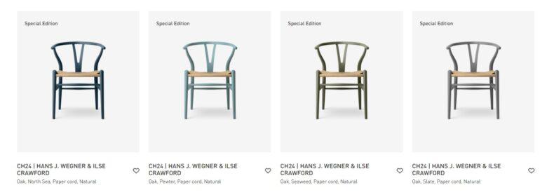 Carl Hansen Son CH 24 WishBone Chair