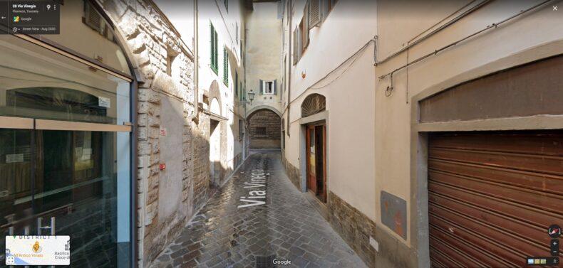Via Vinegio - Florența