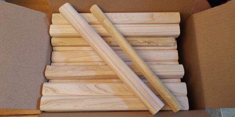 bețe din lemn de frasin